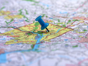Local marketing map